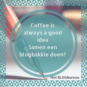 Samen een blogbakkie doen