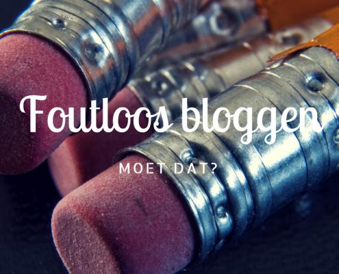 Het Blogbureau-Foutloos bloggen. Moet dat-