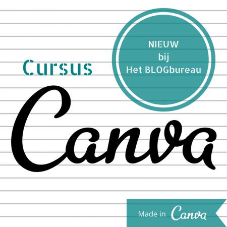 Cursus Canva - Het Blogbureau