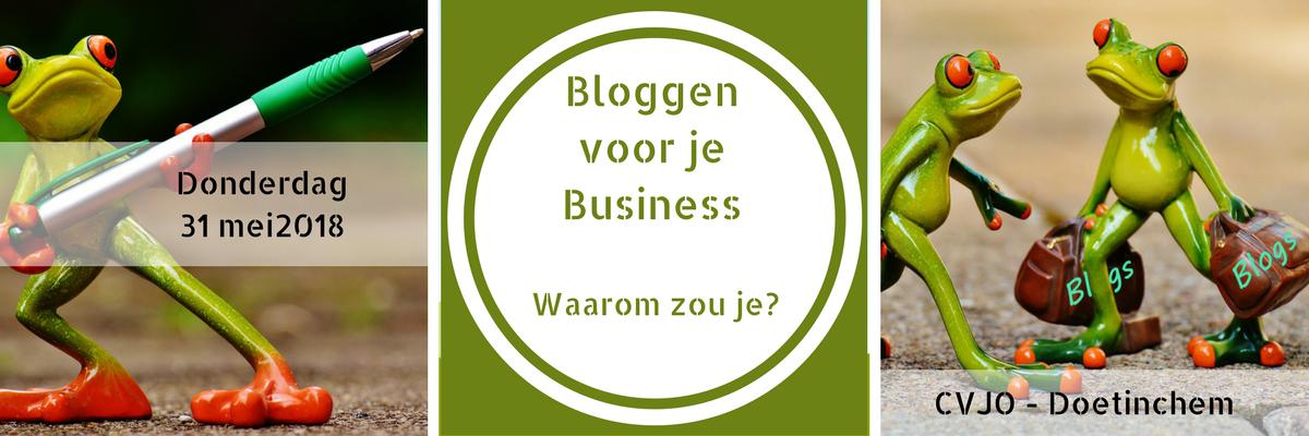Bloggen voor je Business - Het Blogbureau