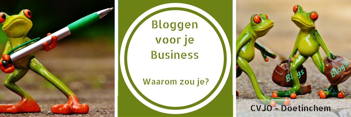 Bloggen voor je Business Workshop