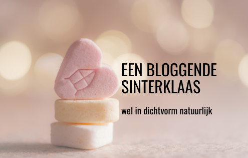 Een bloggende Sinterklaas wel in dichtvorm natuurlijk